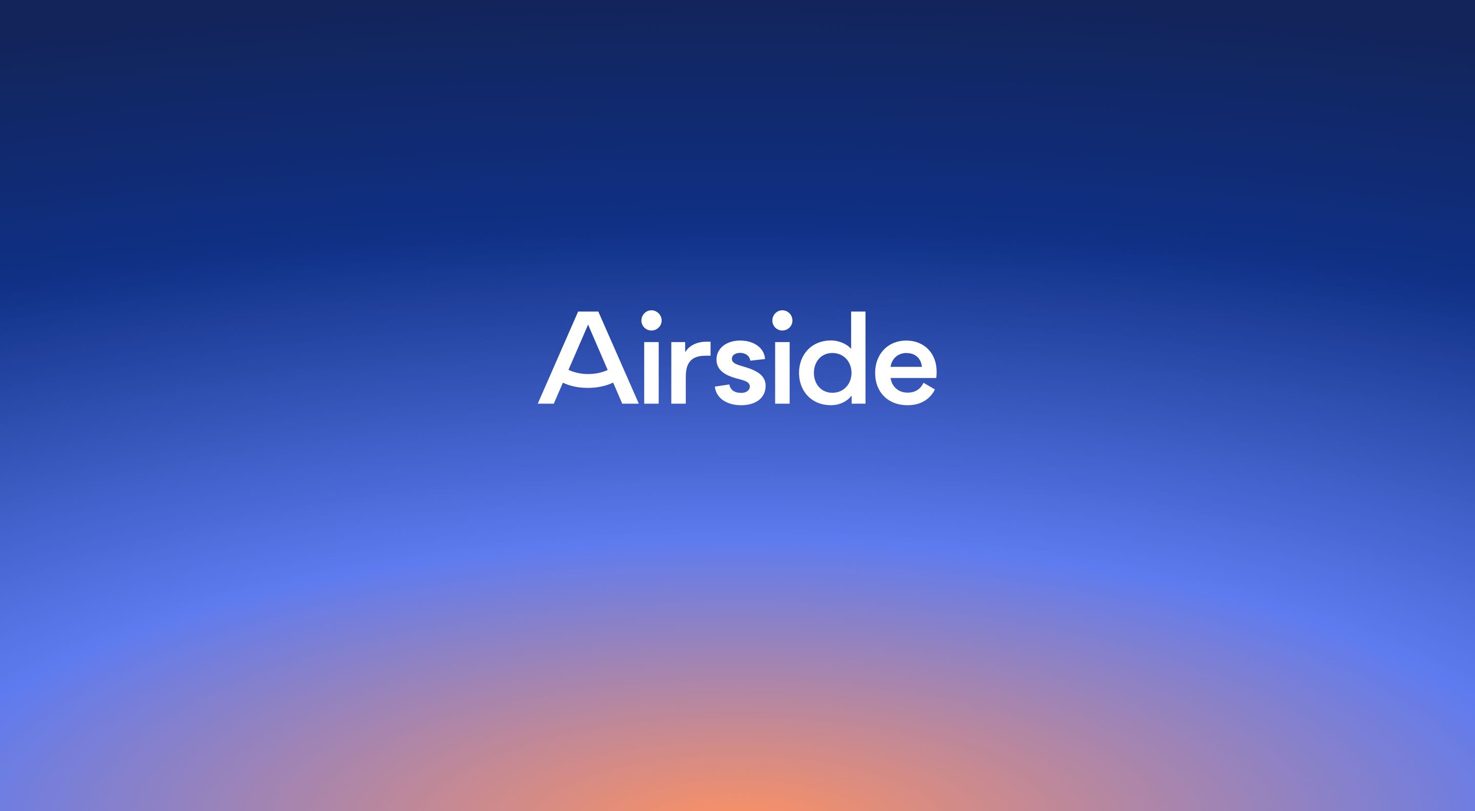 Airside Digital Identity Network and App